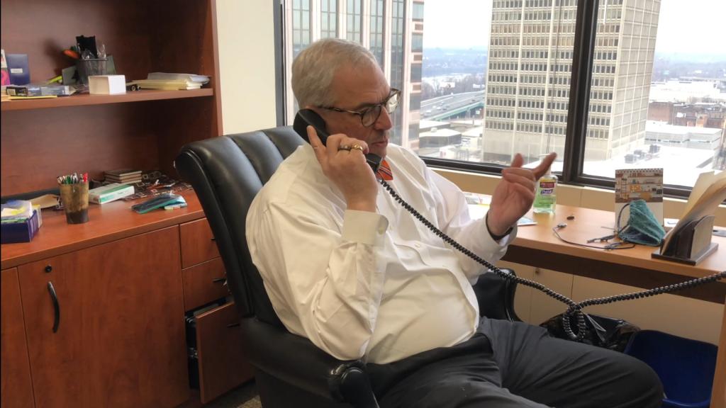 ben-talking-phone-chair-office
